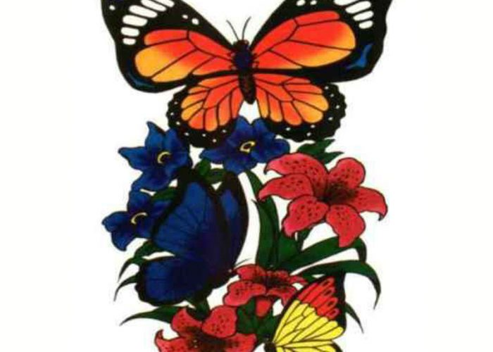 Butterfly-Flash-Tattoo-Designs