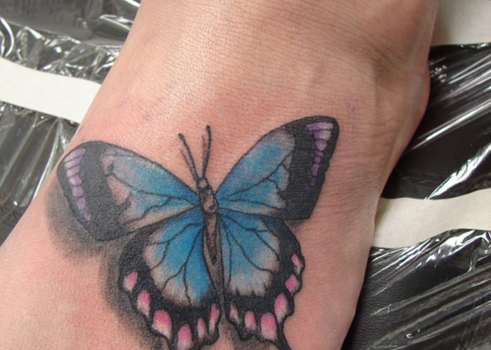 Butterfly-Tattoos-Designs-On-Foot