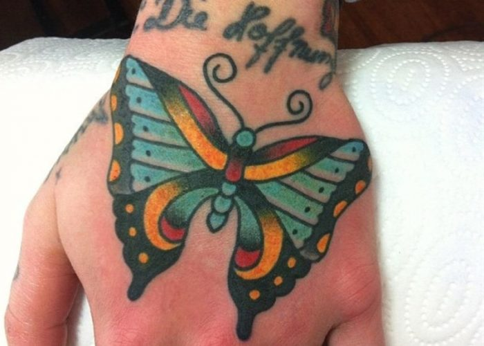 Cute-Butterfly-Tattoo-On-Butterfly-Tattoos-On-Hand