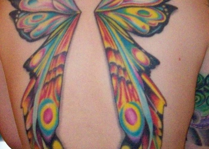 Fairy-With-Butterfly-Wings-Tattoos