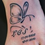 Small-Black-And-White-Butterfly-Tattoos