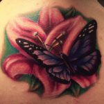 Tattoos-With-Flowers-And-Butterflies