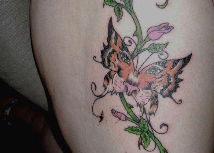 Tiger-Butterfly-Designs-tattoo