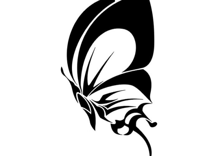 Tribal-Butterfly-Tattoos-Design