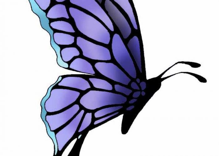 Awesome Butterfly Tattoo Design