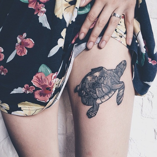 45 Turtle Tattoo Design Ideas Free Pictures On Greepx