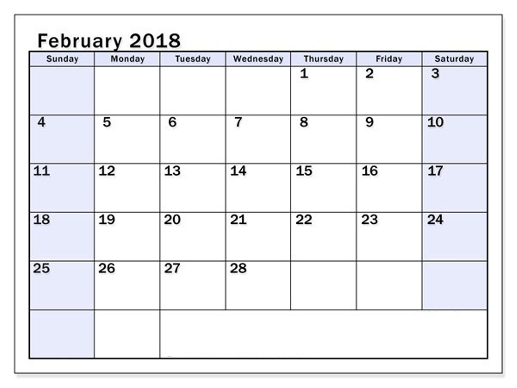 Calendar Planner February Printable : Printable calendar february free pictures on greepx