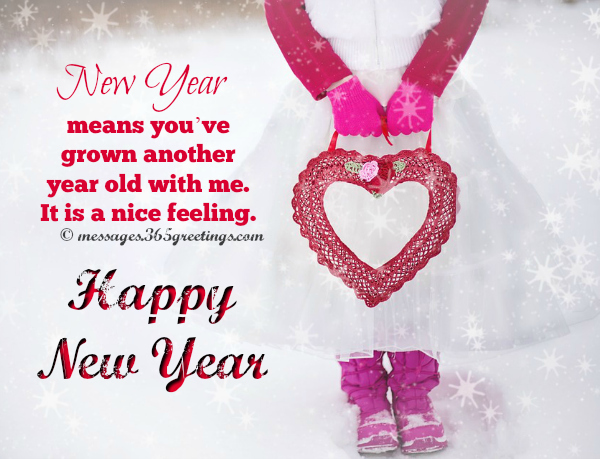 Sweet Happy New Year Messages