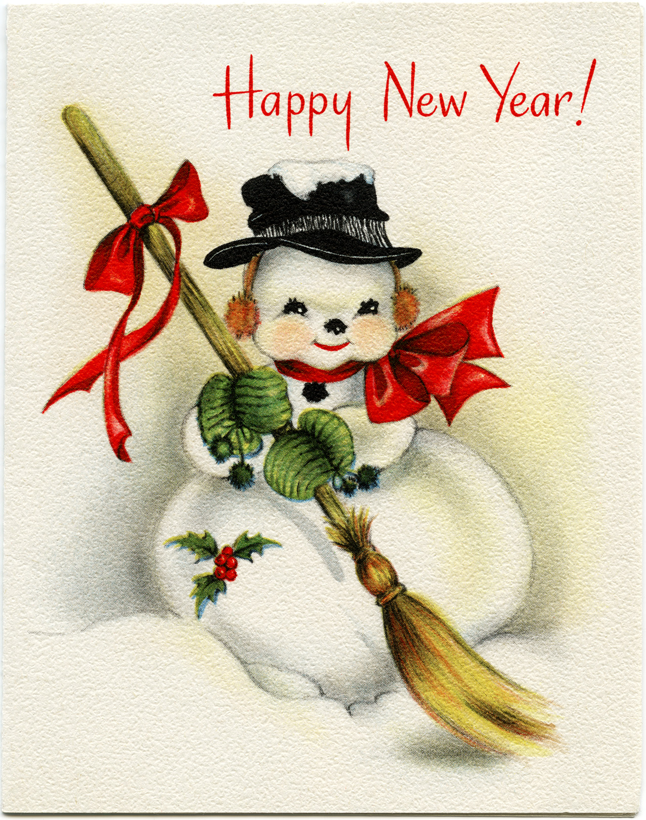 vintage happy new year cards vintage happy new year cards