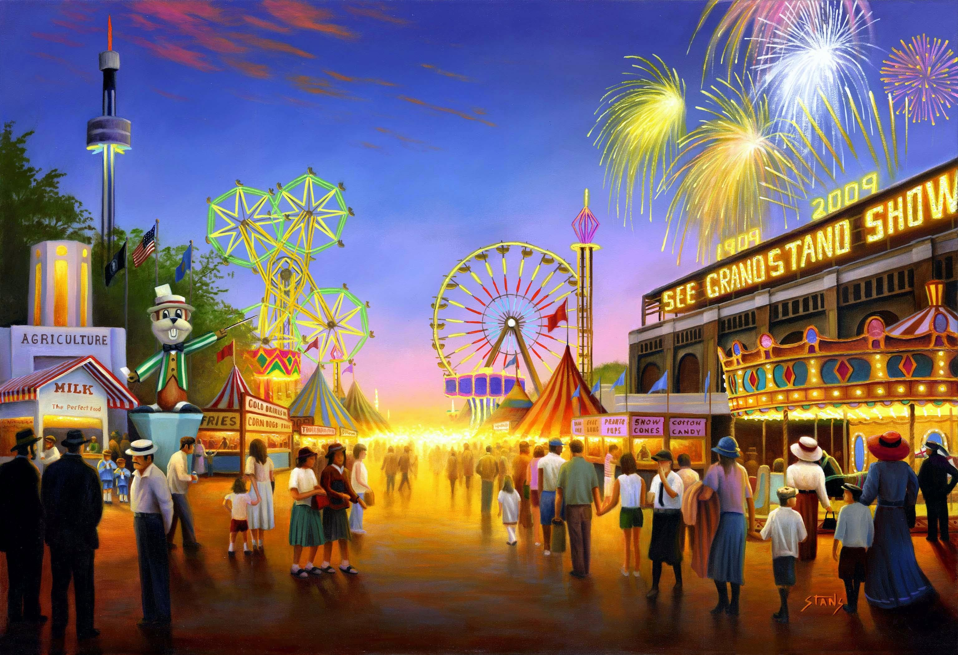 Wallpaper Minnesota, Minnesota state fair, Fair, Art HD, Picture ...