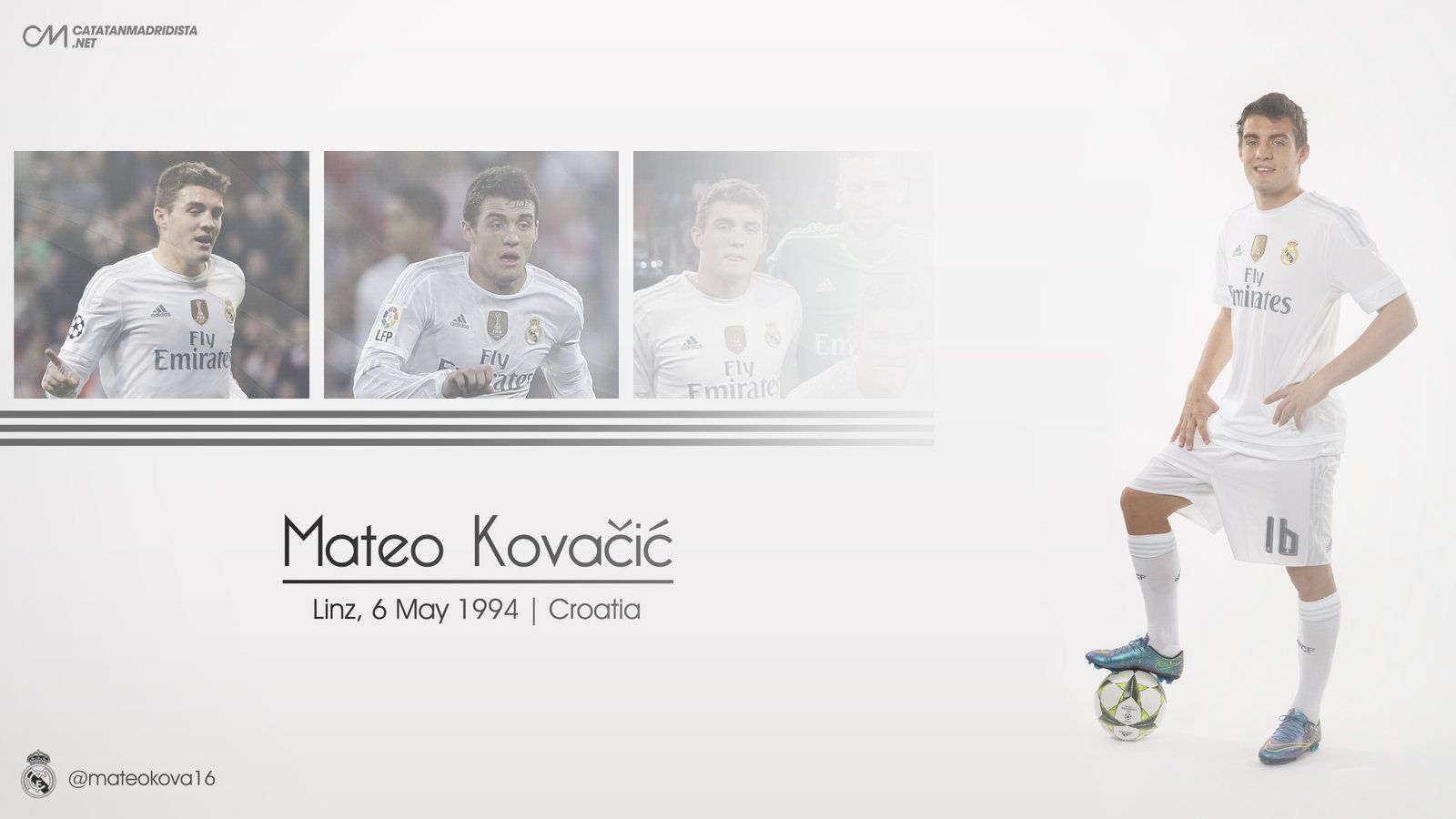 Mateo Kovacic 2016 - Real Madrid by catatanmadridista on DeviantArt