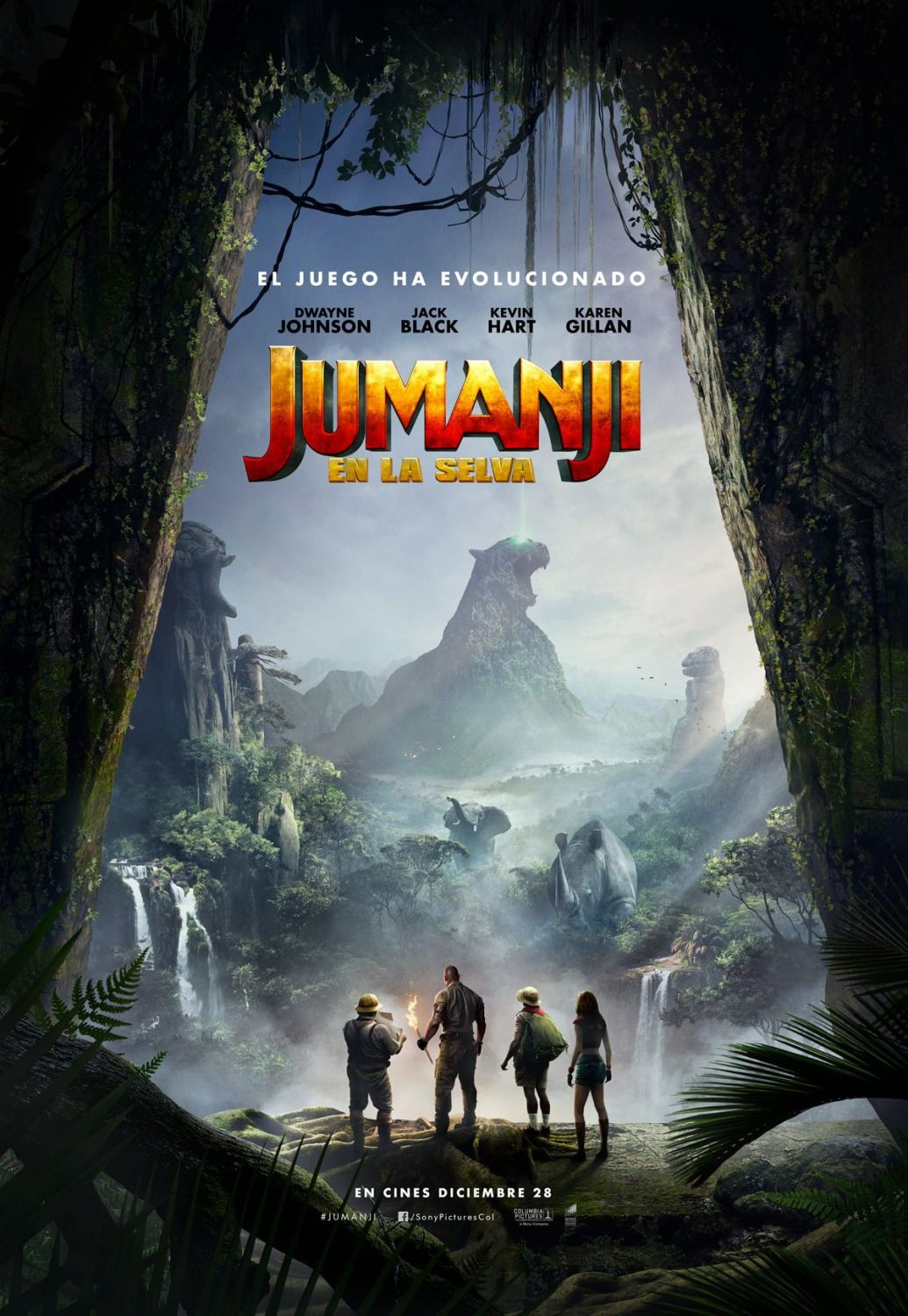 Jumanji: Welcome to the Jungle (2017) HD Wallpaper From Gallsource ...