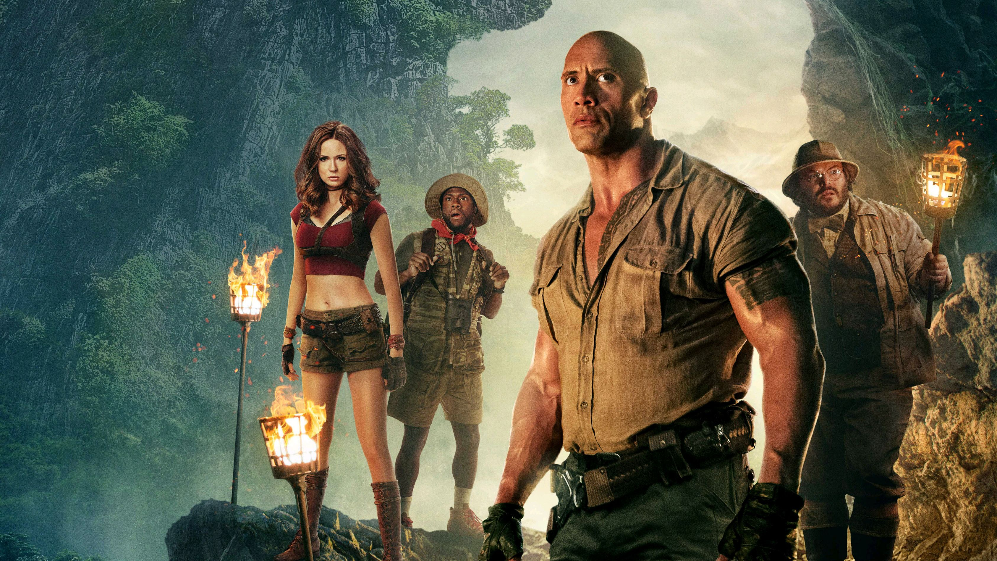 11 Jumanji: Welcome to the Jungle HD Wallpapers | Backgrounds ...