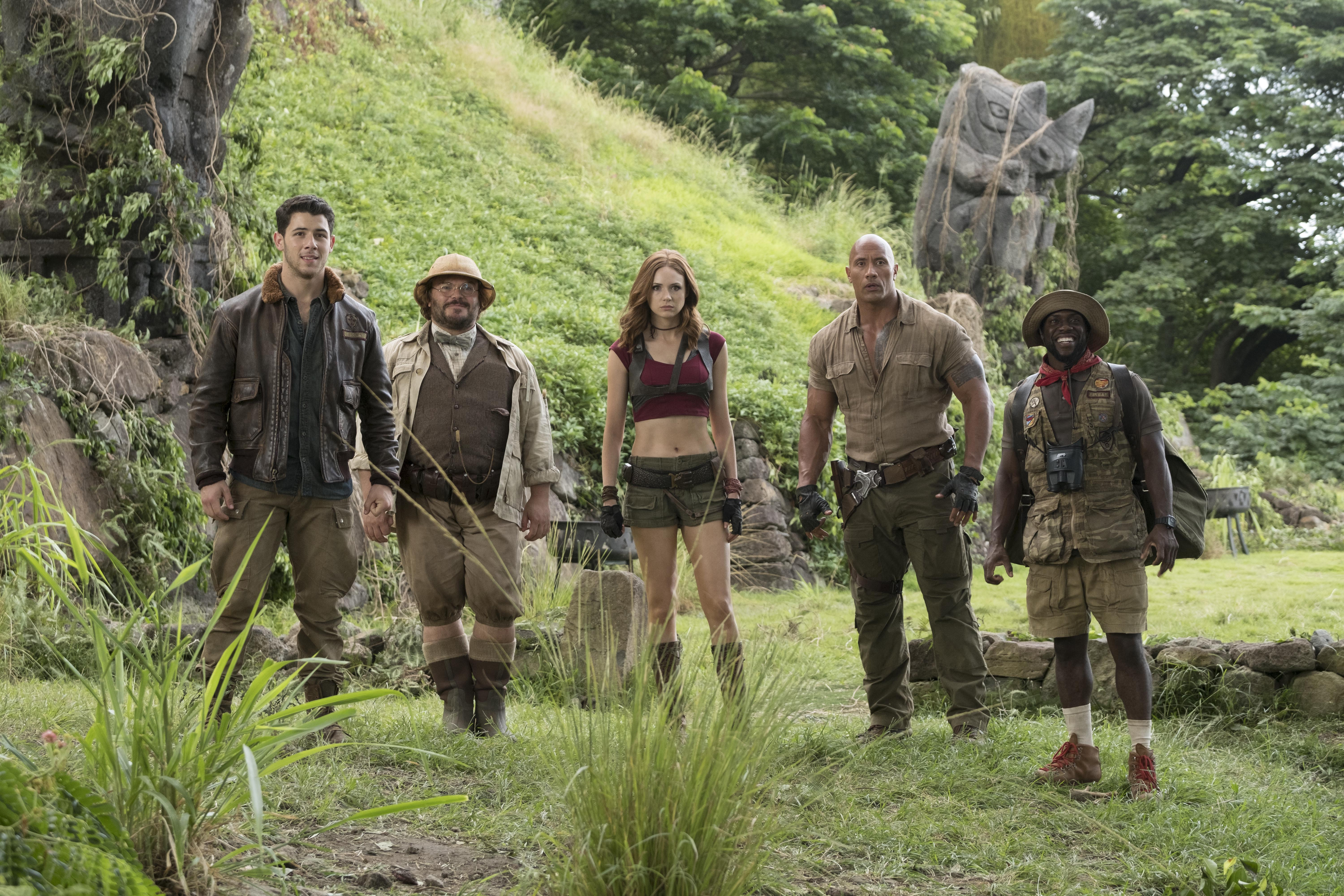 Jumanji Welcome To The Jungle Cast 5k, HD Movies, 4k Wallpapers ...