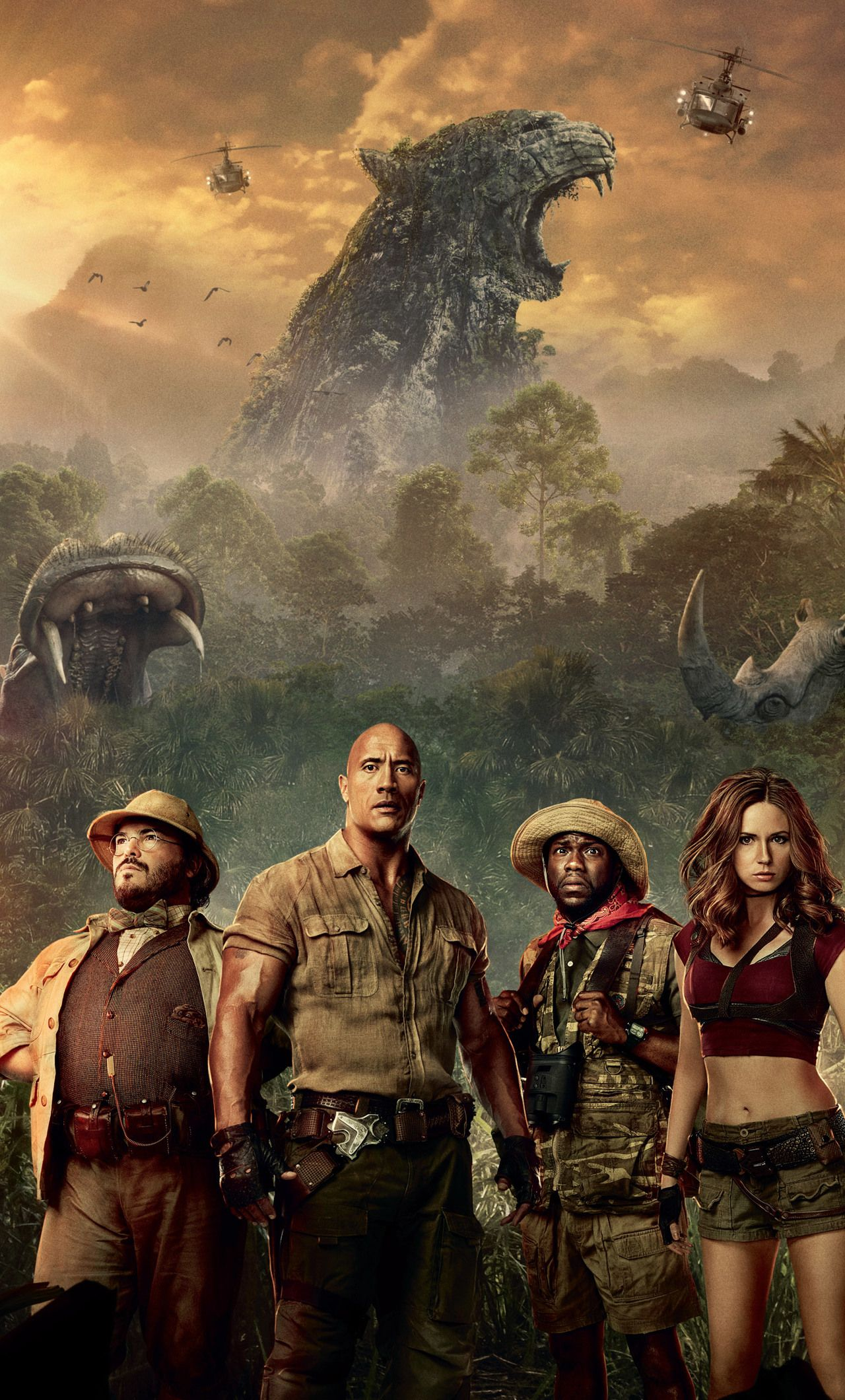 1280x2120 Jumanji Welcome To The Jungle Movie iPhone 6+ HD 4k ...
