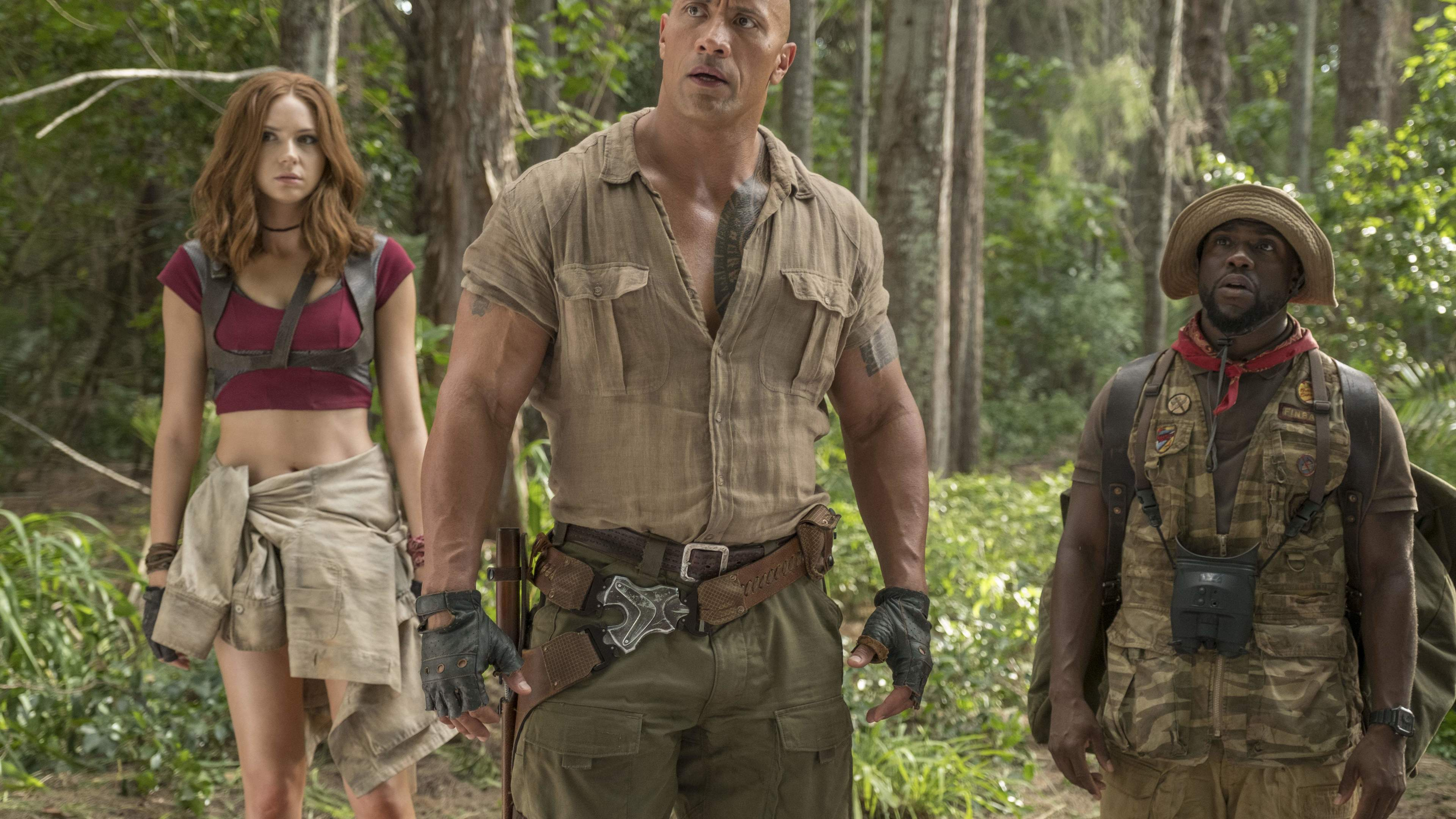 3840x2160 Jumanji Welcome To The Jungle 5k 2017 4k HD 4k ...