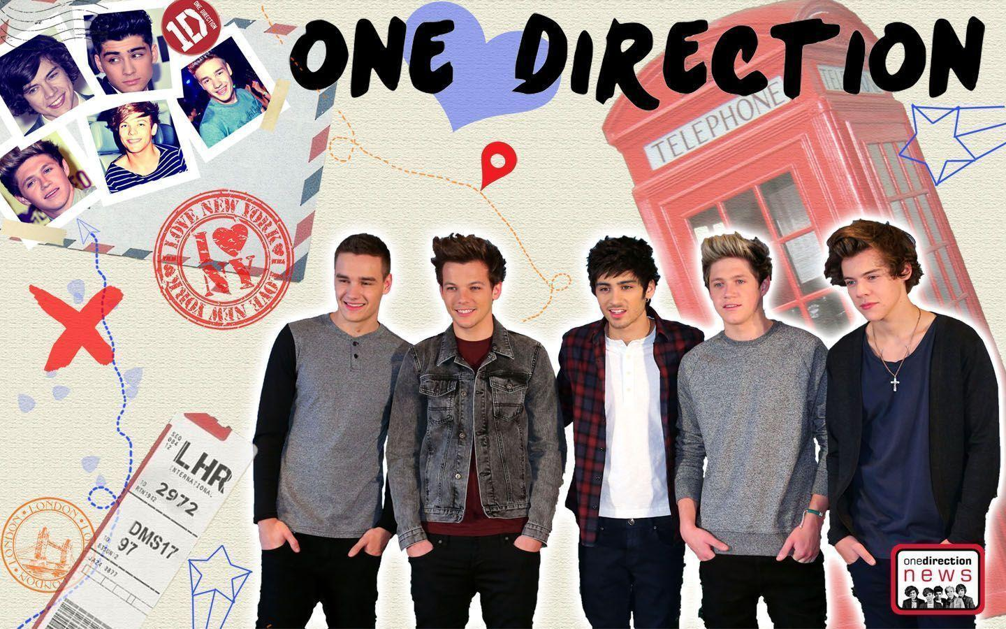 One Direction Wallpapers | Harry, Zayn, Louis, Liam and Niall