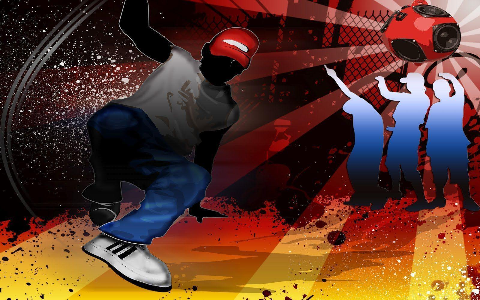 Hip Hop Cartoon Wallpaper PC #1638 Wallpaper | Wallpaper Screen ...