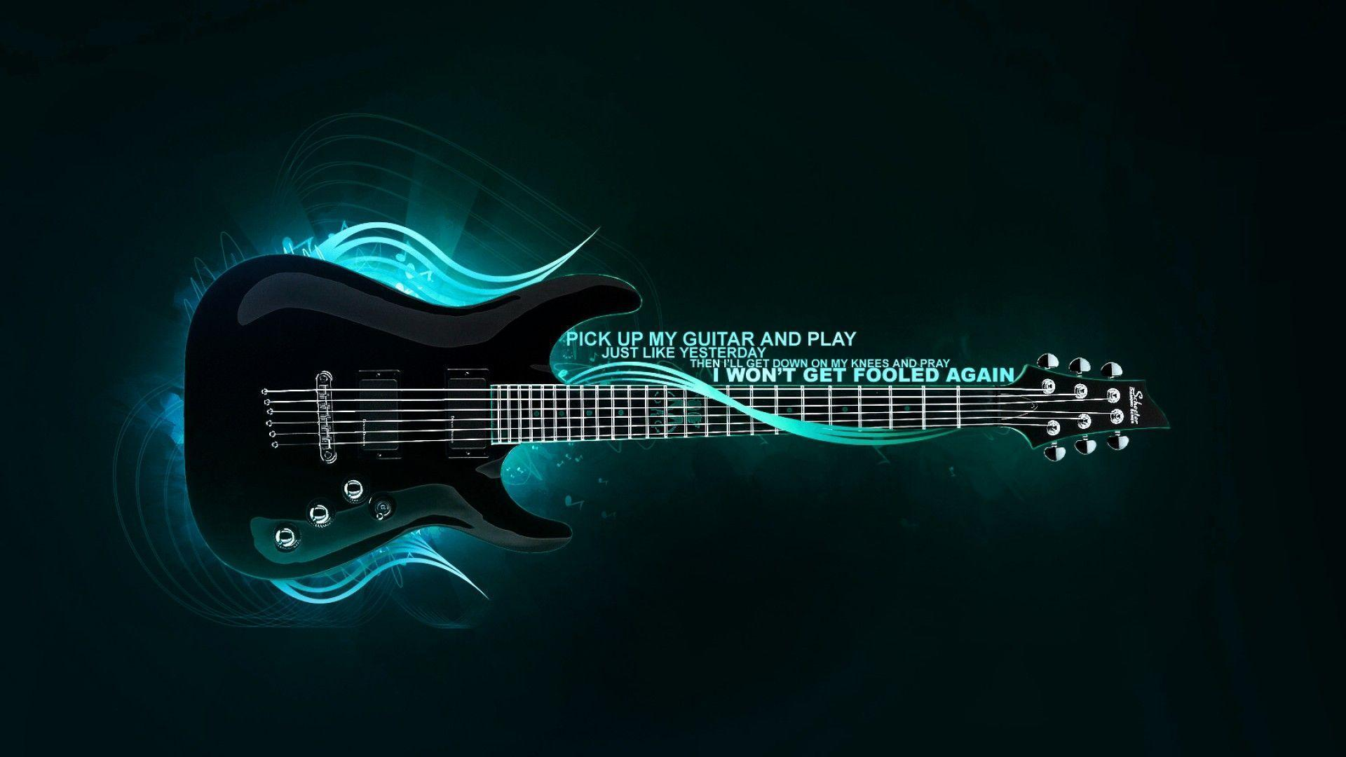 Guitar Image Hd Hd Background Wallpaper 41 HD Wallpapers | www ...
