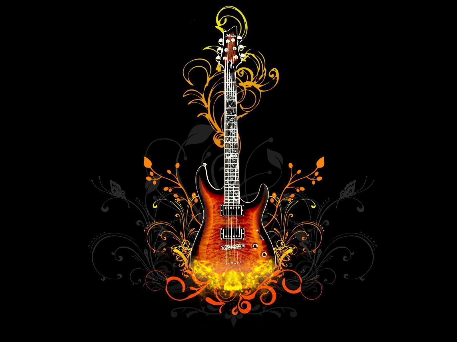 Guitar Image Hd Hd Background Wallpaper 38 HD Wallpapers | www ...