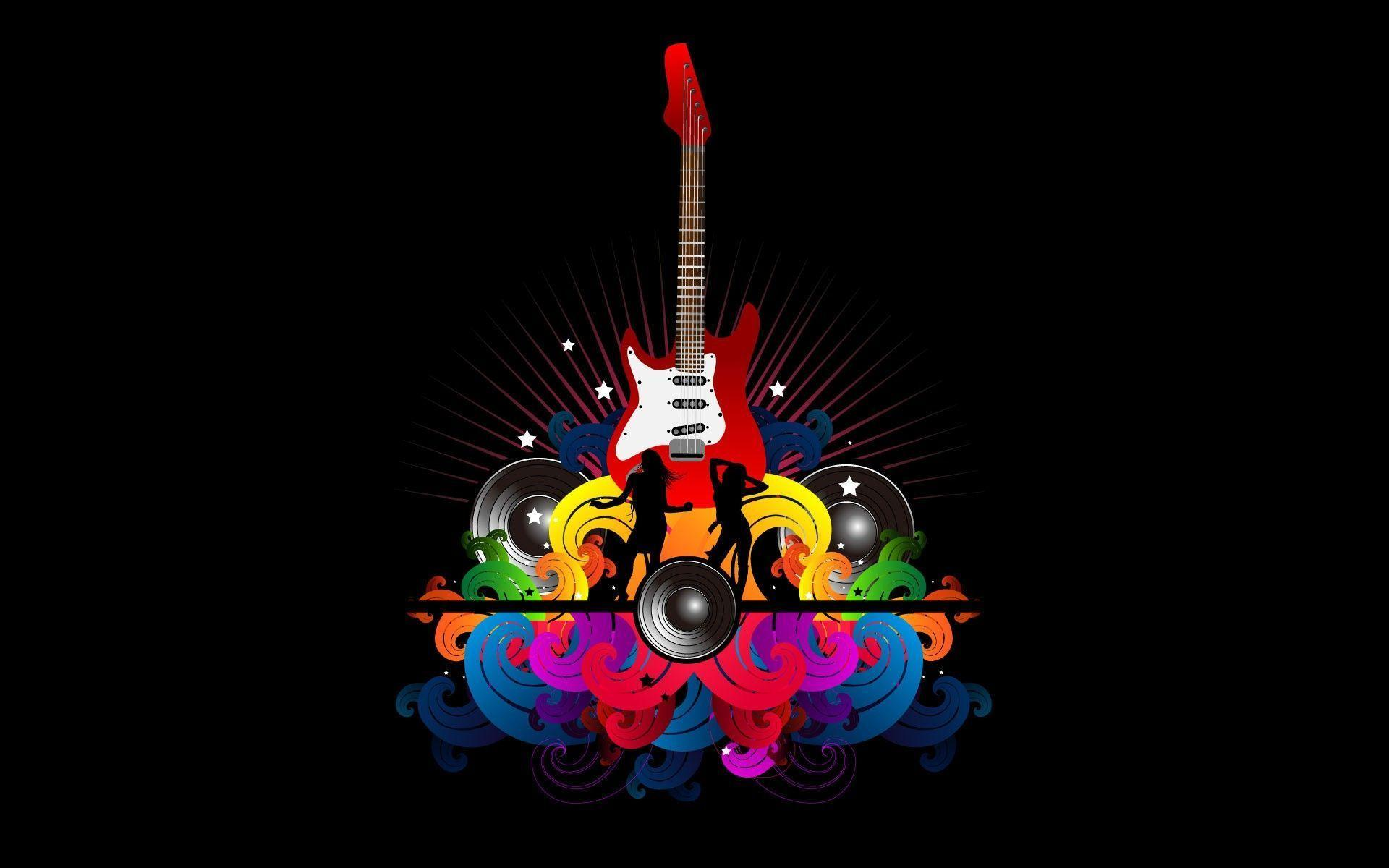 Wallpapers For > Hd Guitar Backgrounds