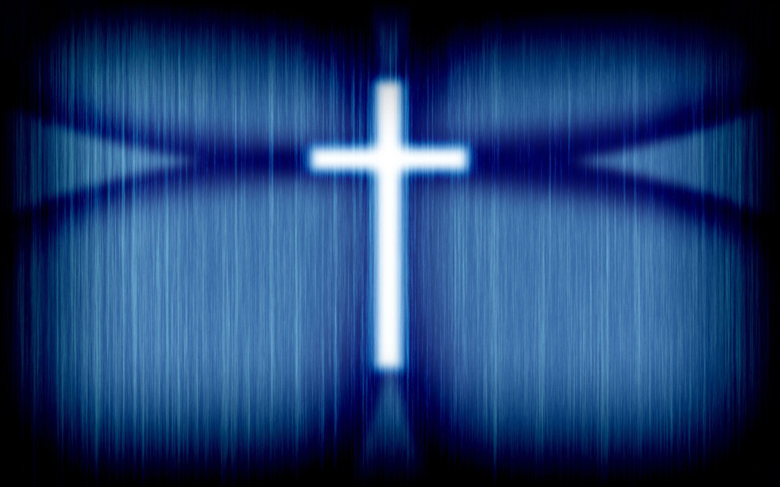 Blue Cross Wallpaper - Christian Wallpapers and Backgrounds