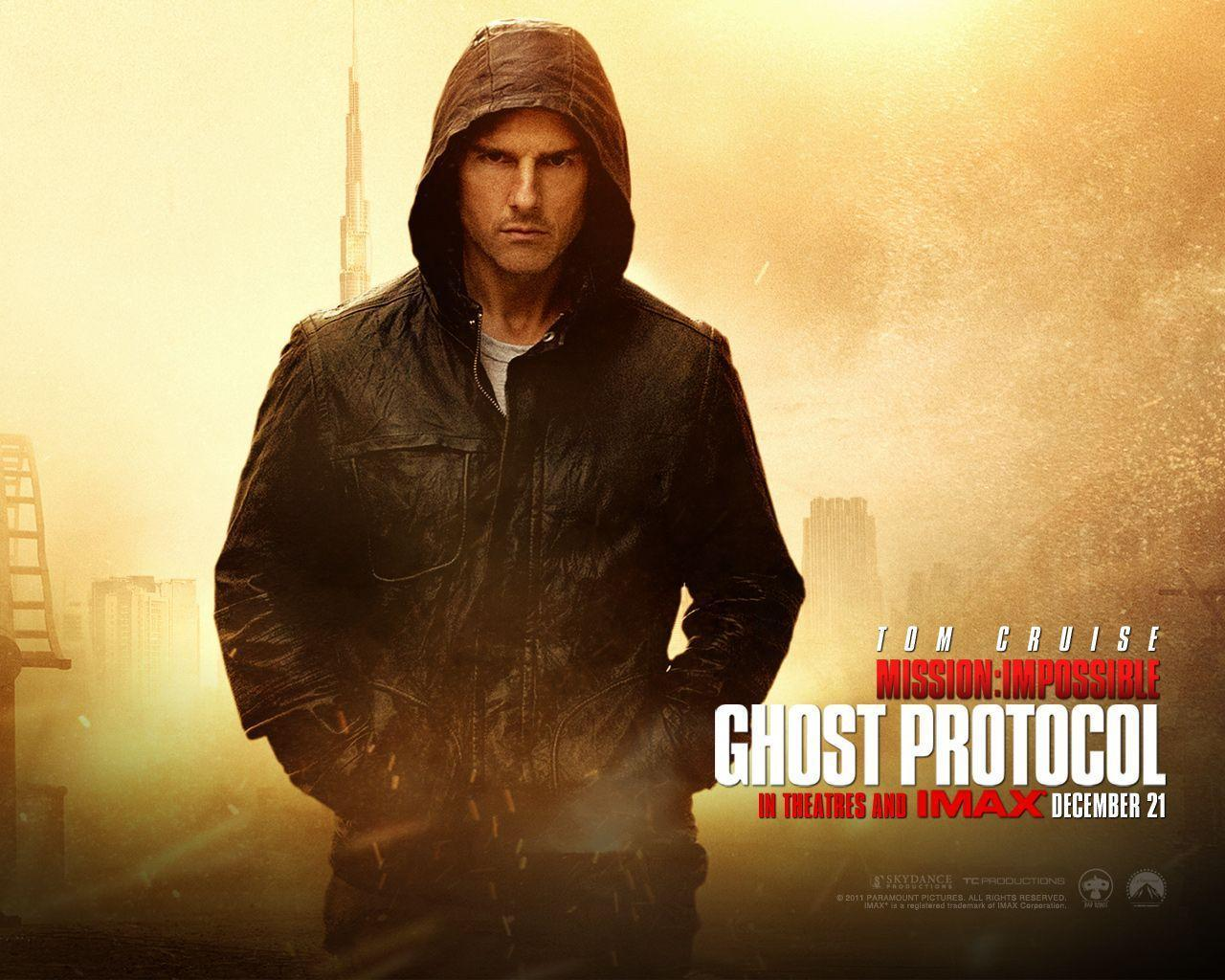 Tom Cruise in Mission Impossible 4 Wallpapers | HD Wallpapers