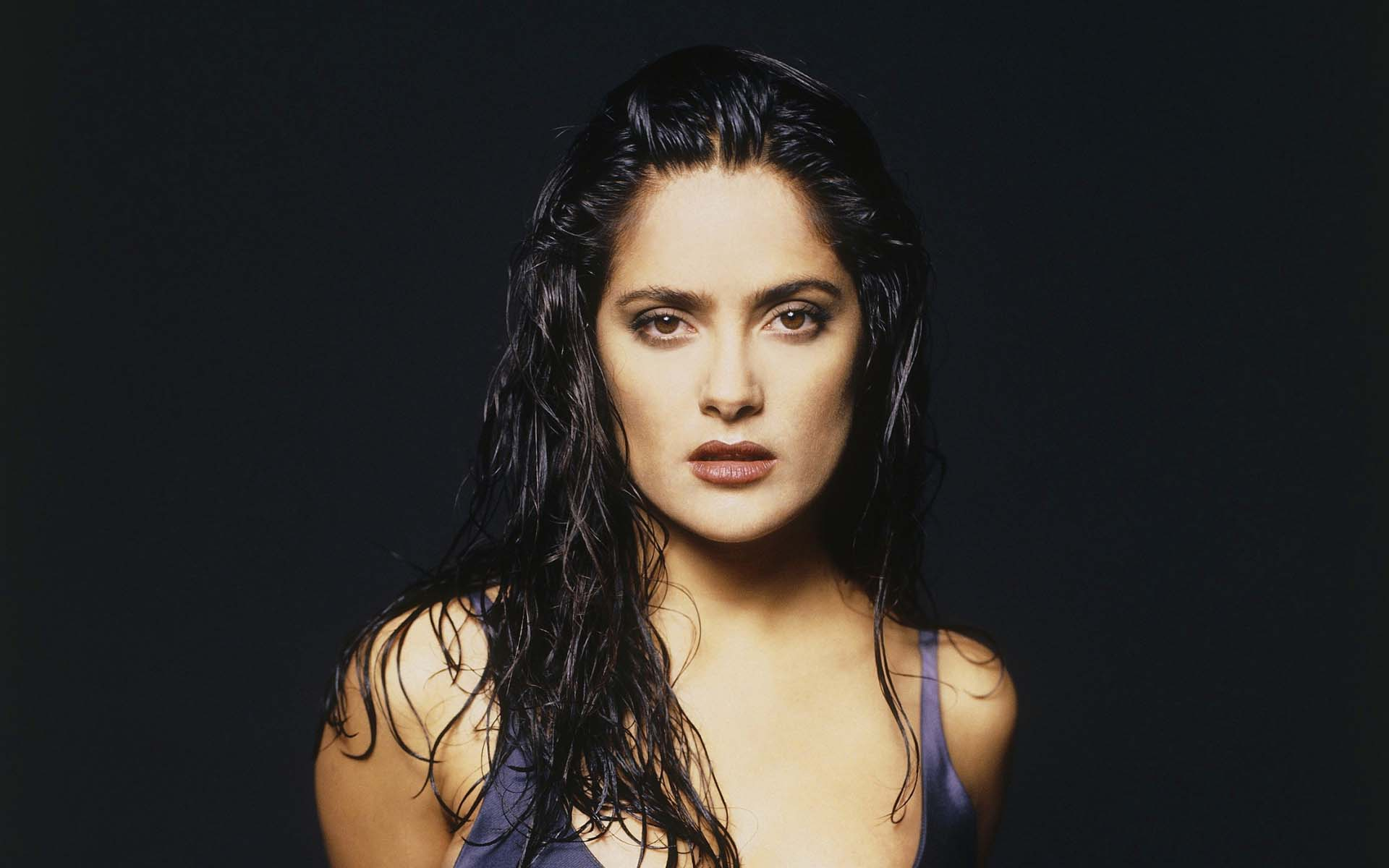 Salma Hayek Wet Hair Exclusive HD Wallpapers #6919