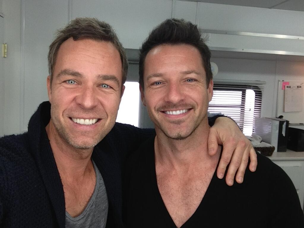 One of most beautiful bromance ever..Ian Bohen and J.R Bourne ...