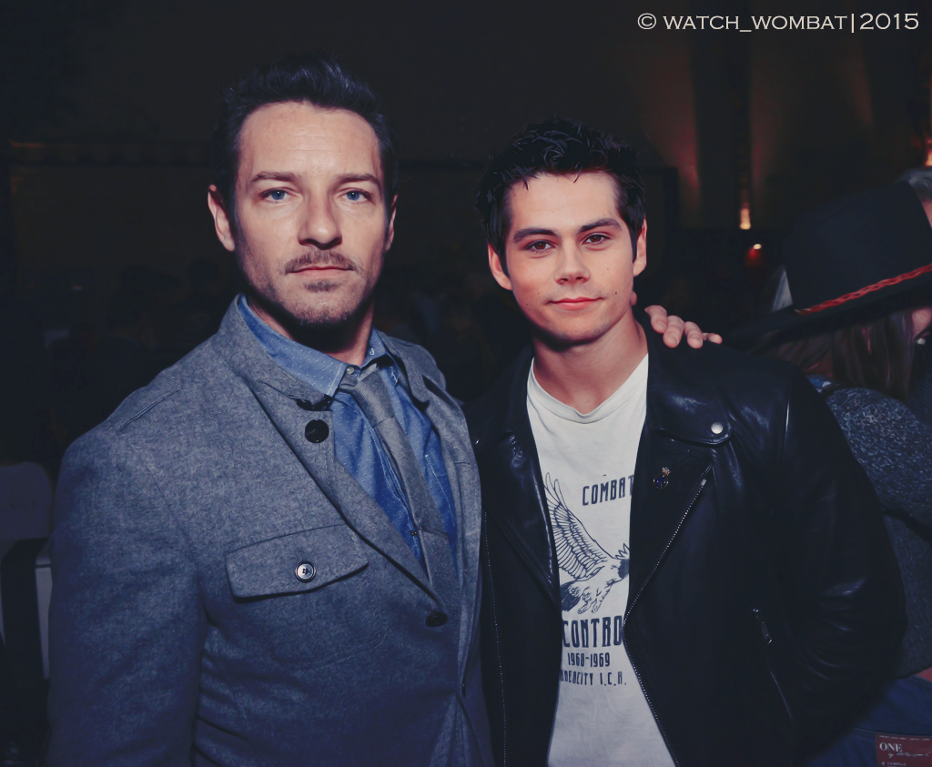 Ian Bohen and Dylan O'Brien by watchwombat on DeviantArt