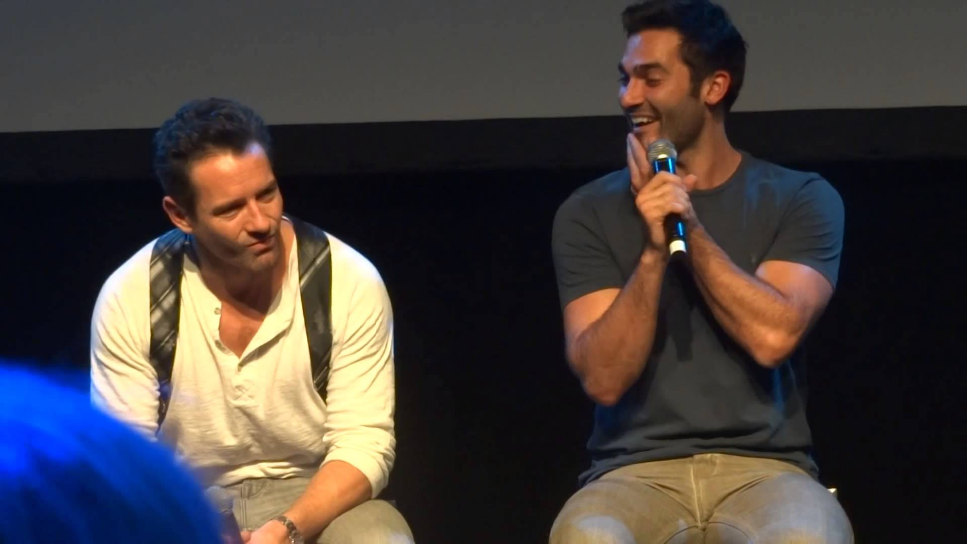 Tyler Hoechlin & Ian Bohen Panel WereWolfCon 2015 - YouTube
