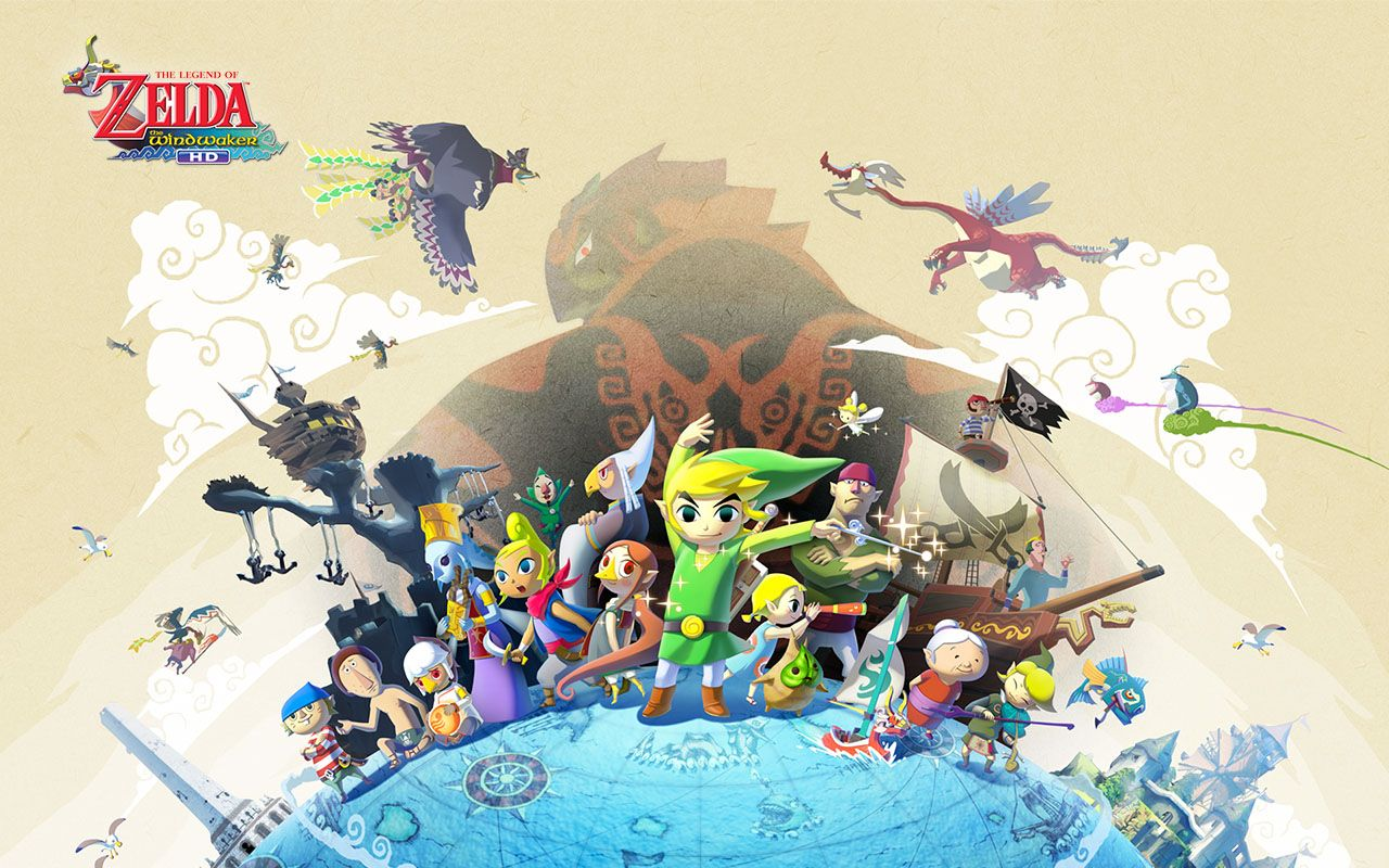 Official Site - The Legend of Zelda: The Wind Waker HD for Wii U