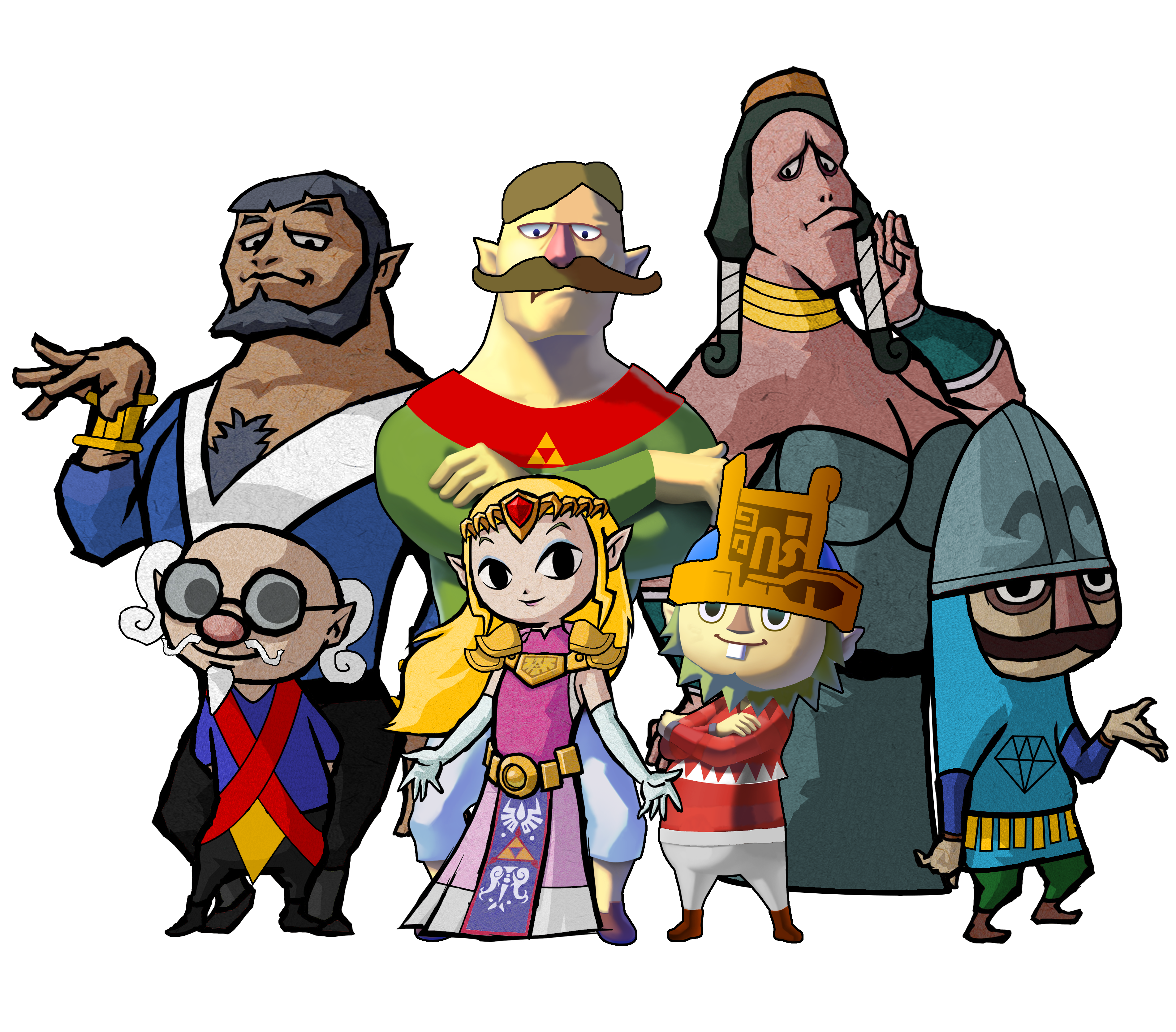 Wind Waker Tetra and the Pirate's Ancestors by ...