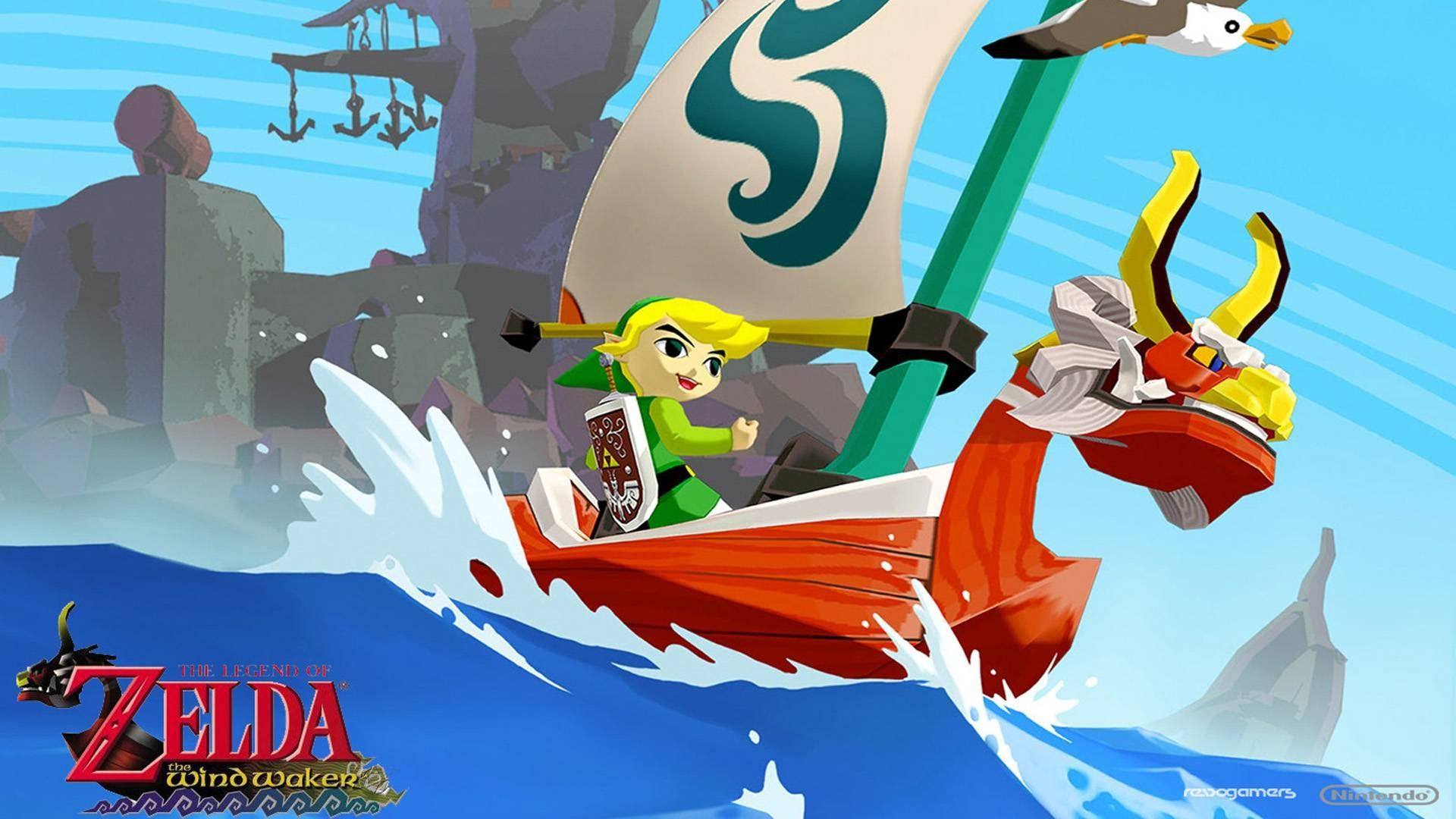 The Legend of Zelda Wind Waker Encounter With Tetra Theme - YouTube