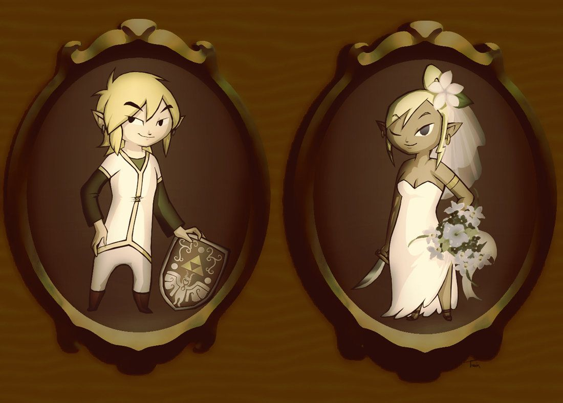 Link and Tetra: Portraits by BeagleTsuin on DeviantArt