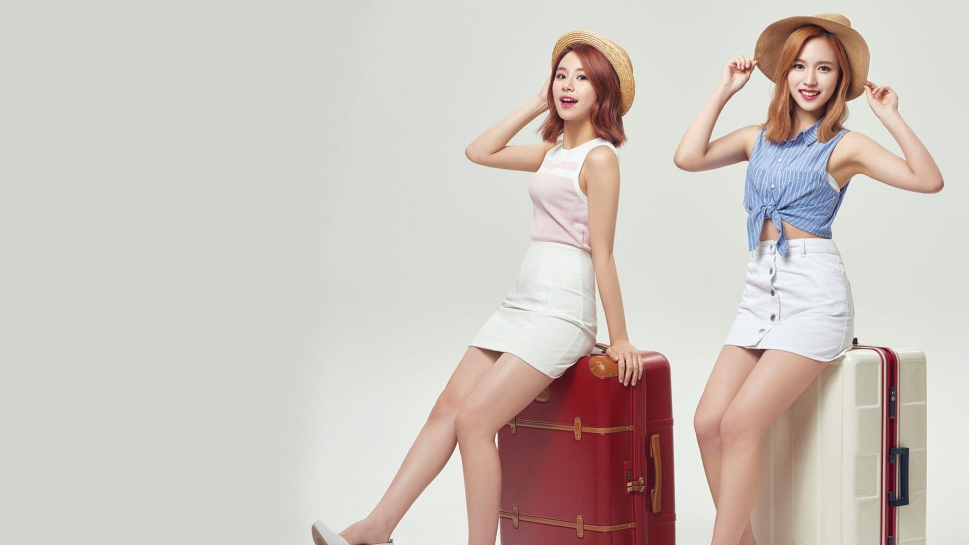 Chaeyoung and Mina TWICE K-Pop Girls... Wallpaper #37717