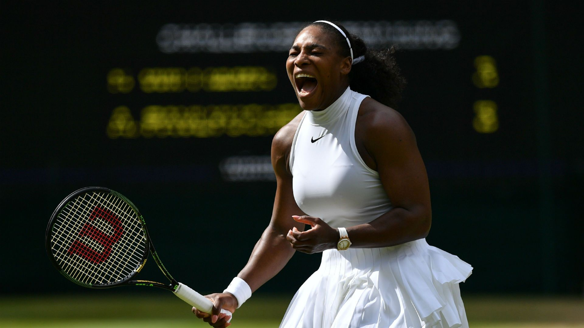 Wimbledon 2016: Serena Williams rolls into semifinals | Tennis ...