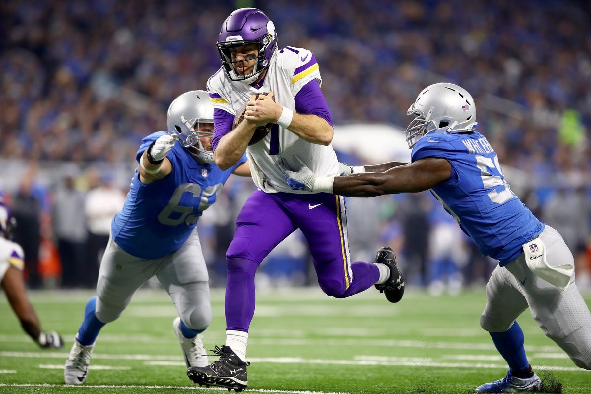 Case Keenum and Mike Zimmer's fighter spirit taking the Vikings to ...