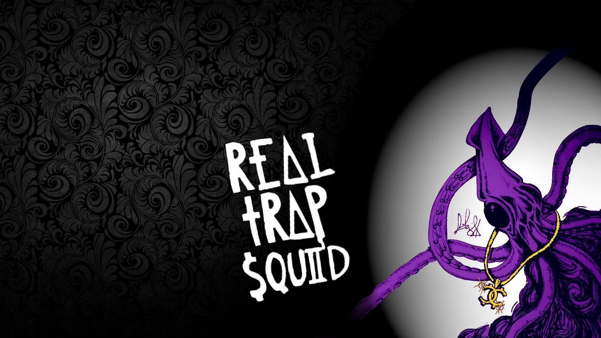 Made a 1920x1080 wallpaper of the Trap Squid. /r/Wallpapers showed ...