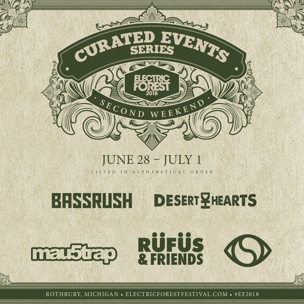 2018 Lineup | Electric Forest