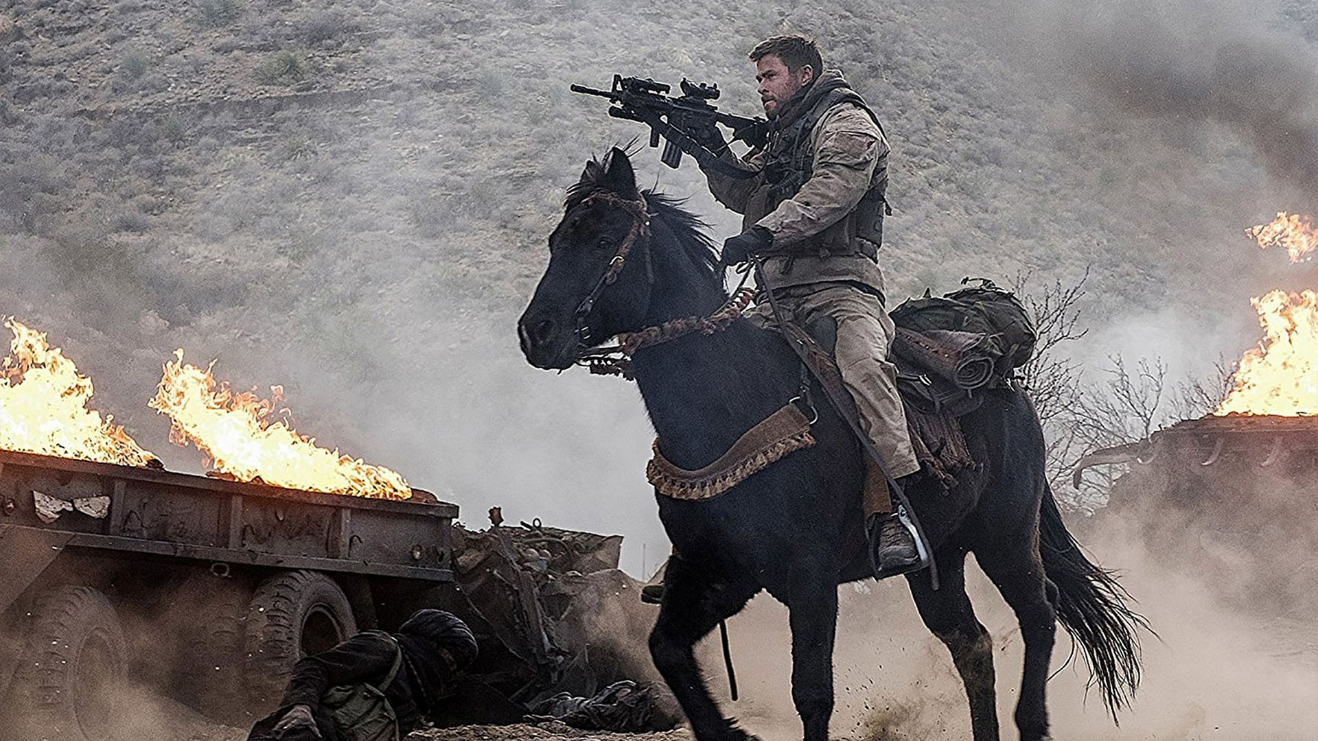 HD 12 Strong 2018 Chris Hemsworth Movie #204