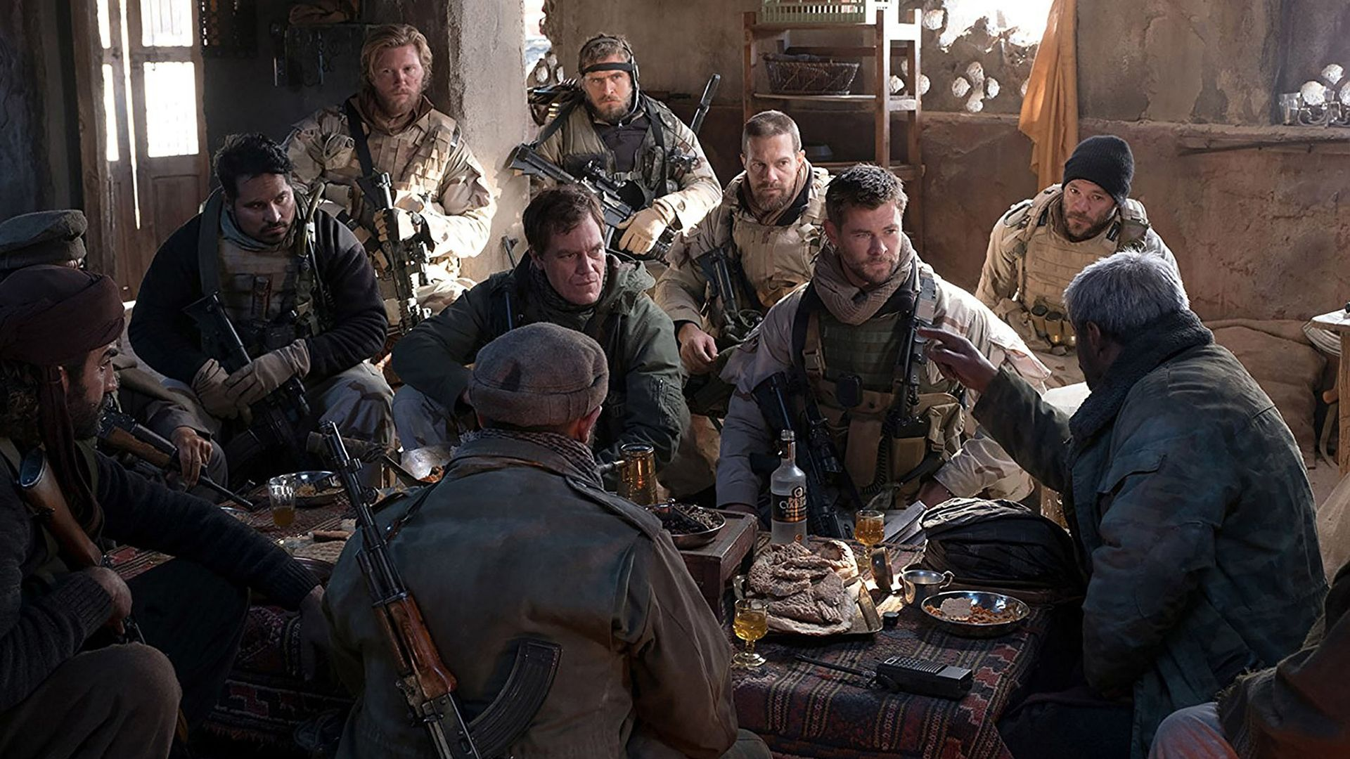 HD 12 Strong 2018 Movie Cast #201