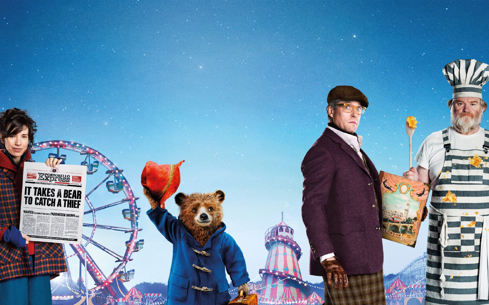 Download Paddington 2 Movie 2017 5120x2880 Resolution, Full HD 2K ...