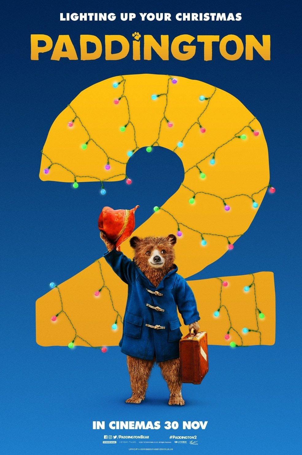 Paddington 2 - new film poster: https://teaser-trailer.com/movie ...