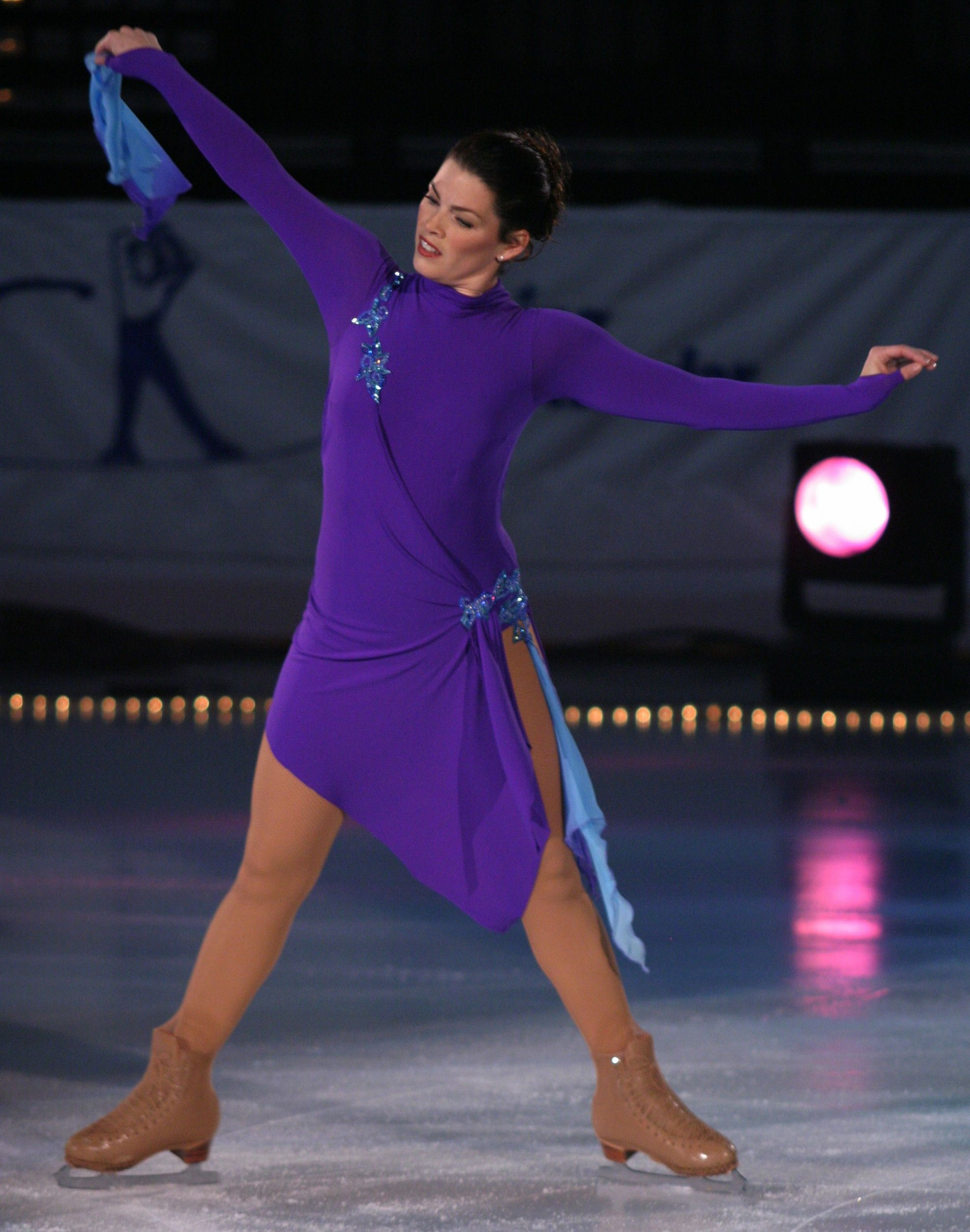 Nancy Kerrigan (Photo by Sharon Modjeska) http://www.dissonskating ...