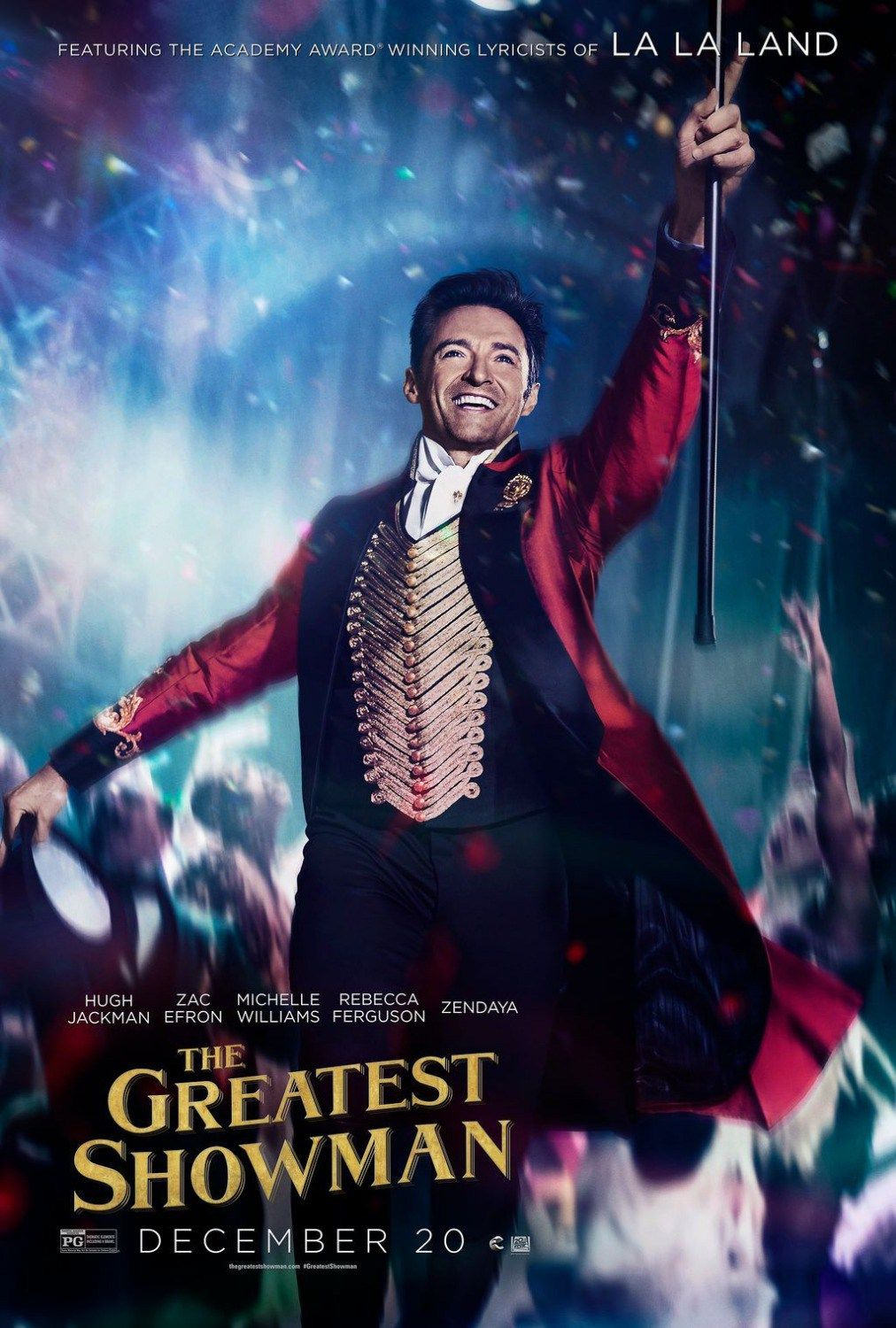 The Greatest Showman Movie Character Posters : Teaser Trailer