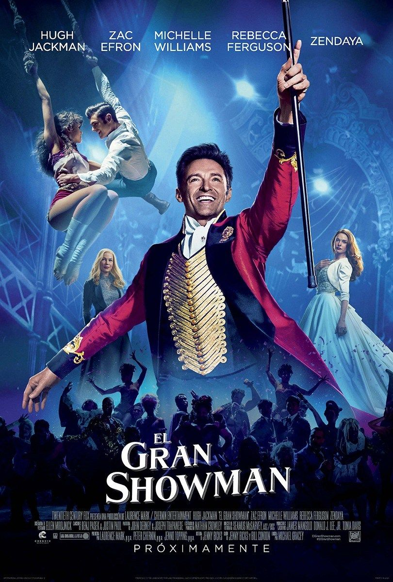 Trailer and Poster of The Greatest Showman : Teaser Trailer