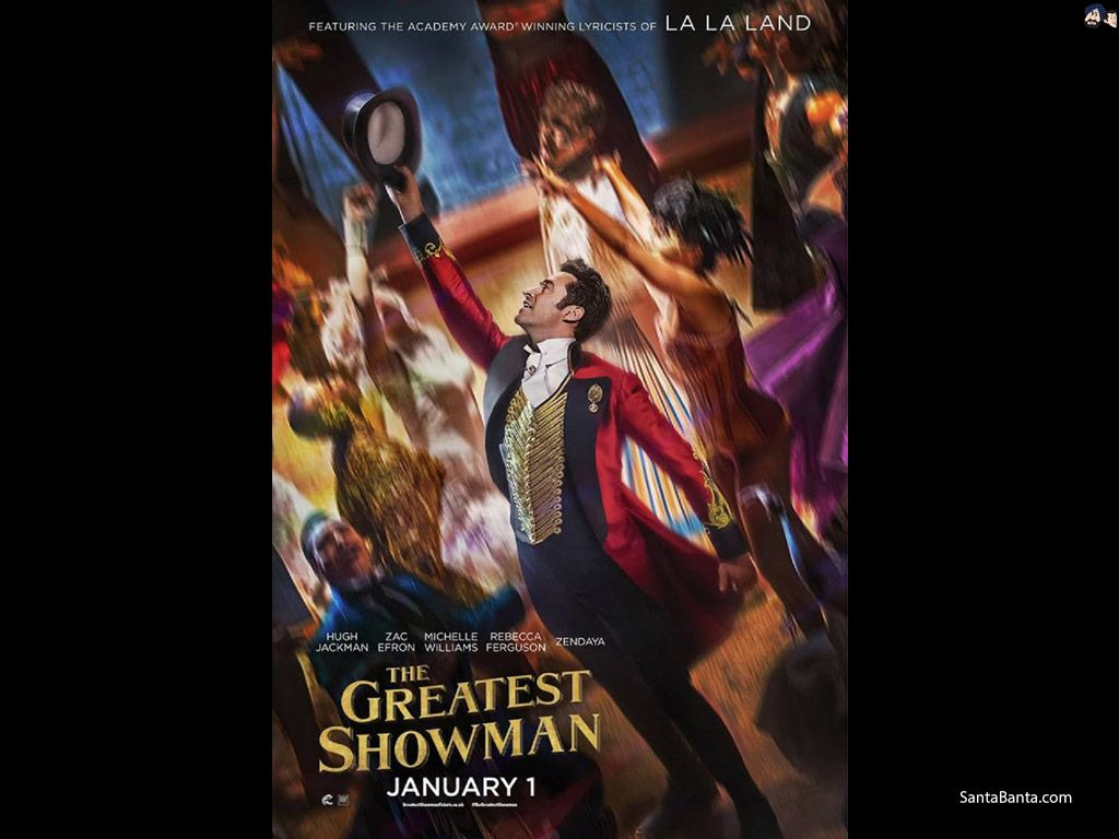The Greatest Showman Movie Wallpaper #2
