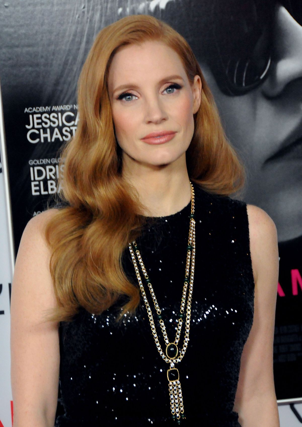 Jessica Chastain - Closing Night Gala Screening of Molly's Game at ...