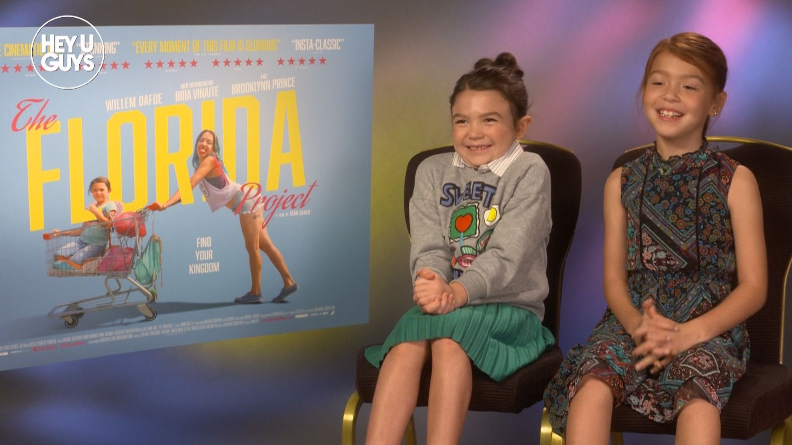 Exclusive: Brooklynn Prince and Valeria Cotto on The Florida Project